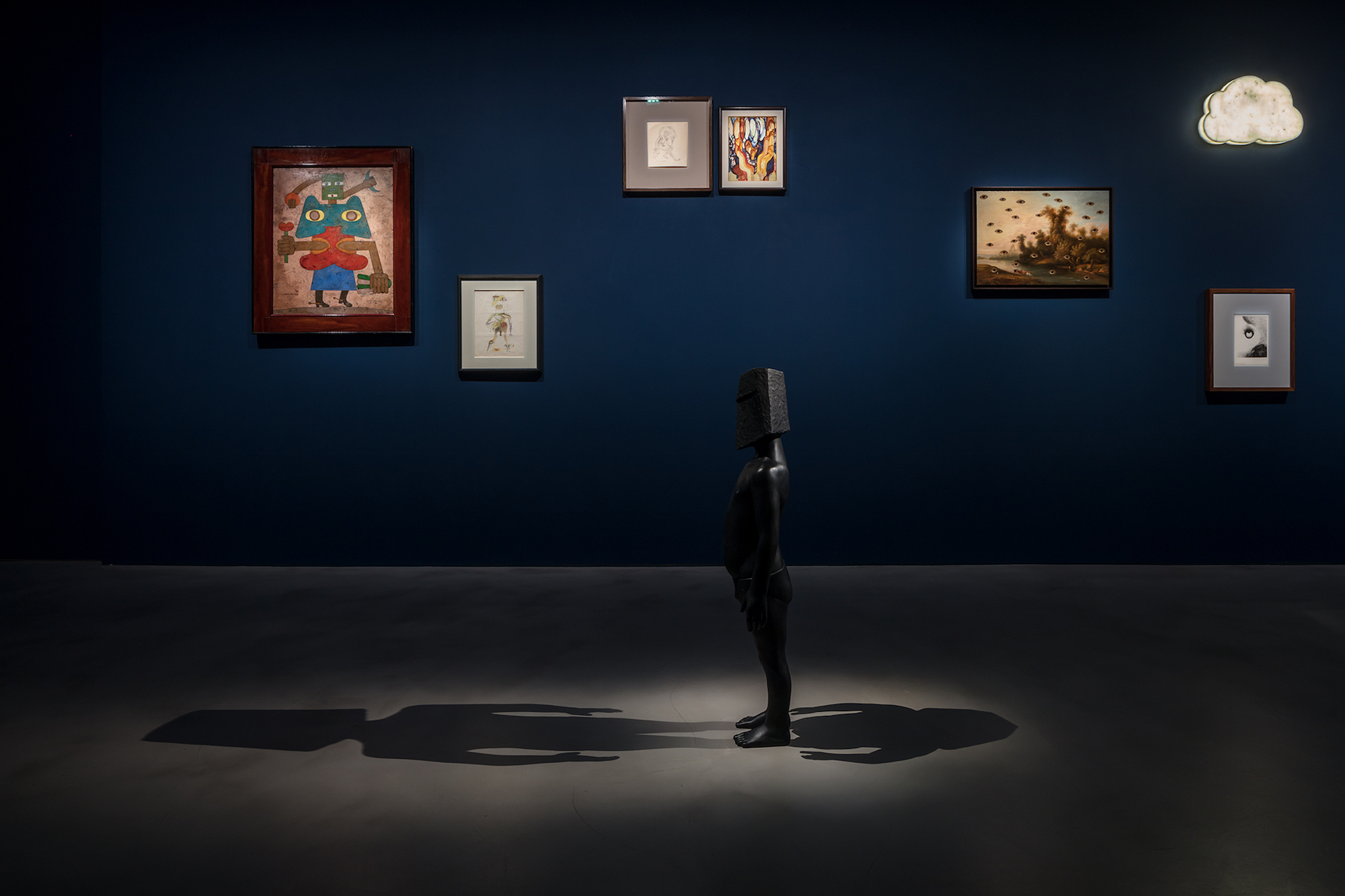 Laurent Grasso, The Panoptes Project. At Olivier Malingue, London. Photo, Marcus Peel 1