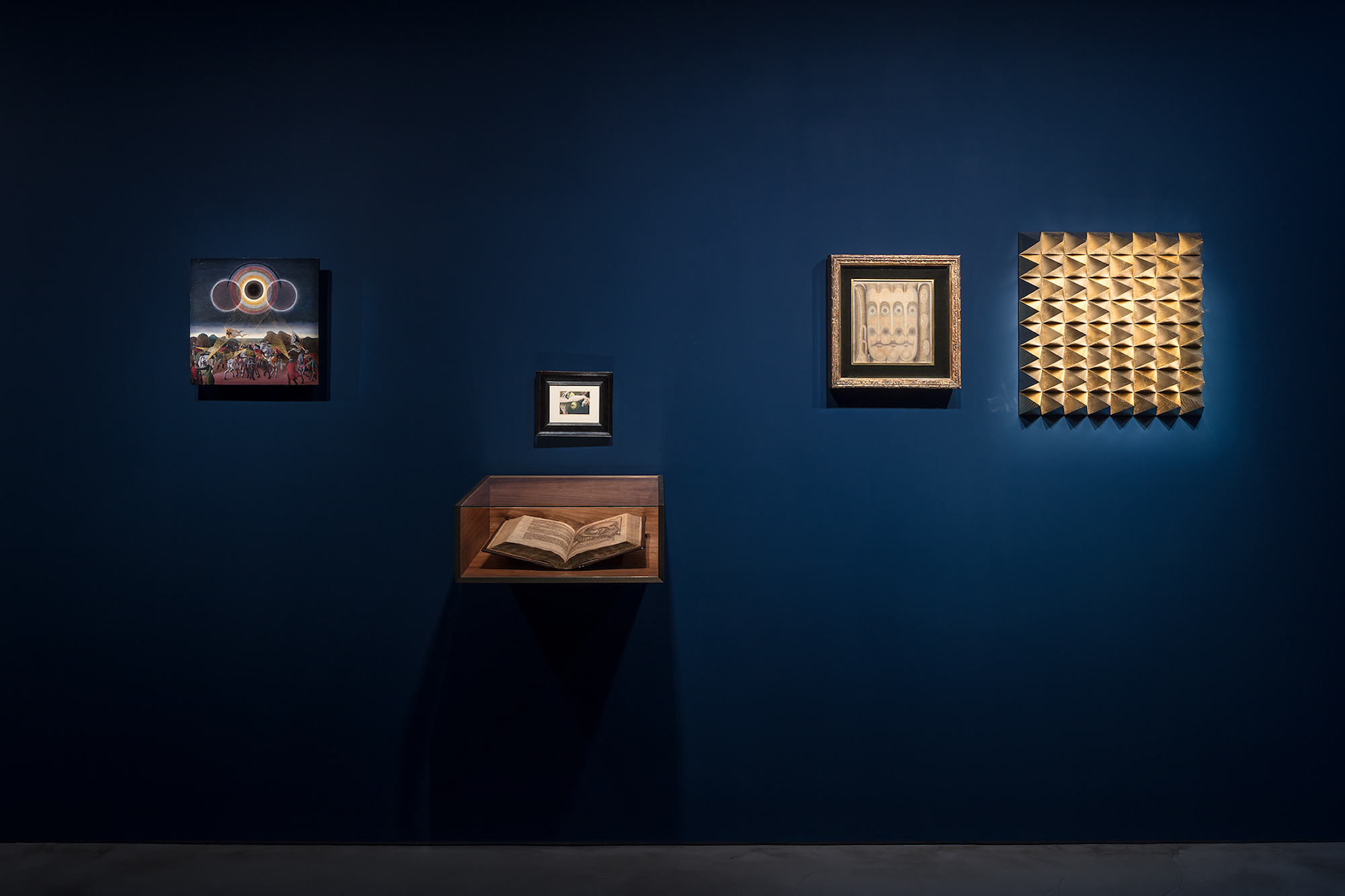 Laurent Grasso, The Panoptes Project. At Olivier Malingue, London. Photo, Marcus Peel 4