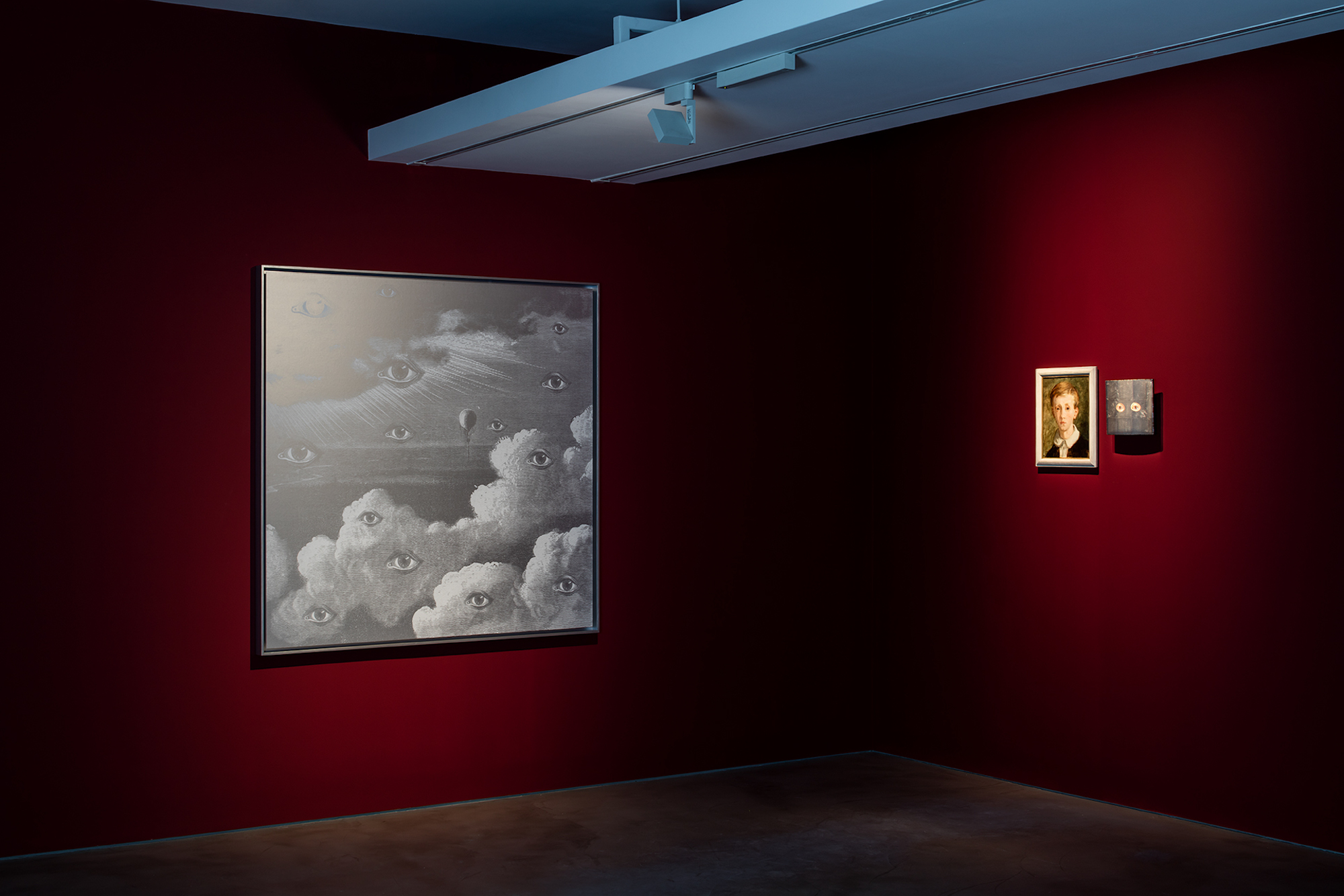 Laurent Grasso, The Panoptes Project. At Olivier Malingue, London. Photo, Marcus Peel 5