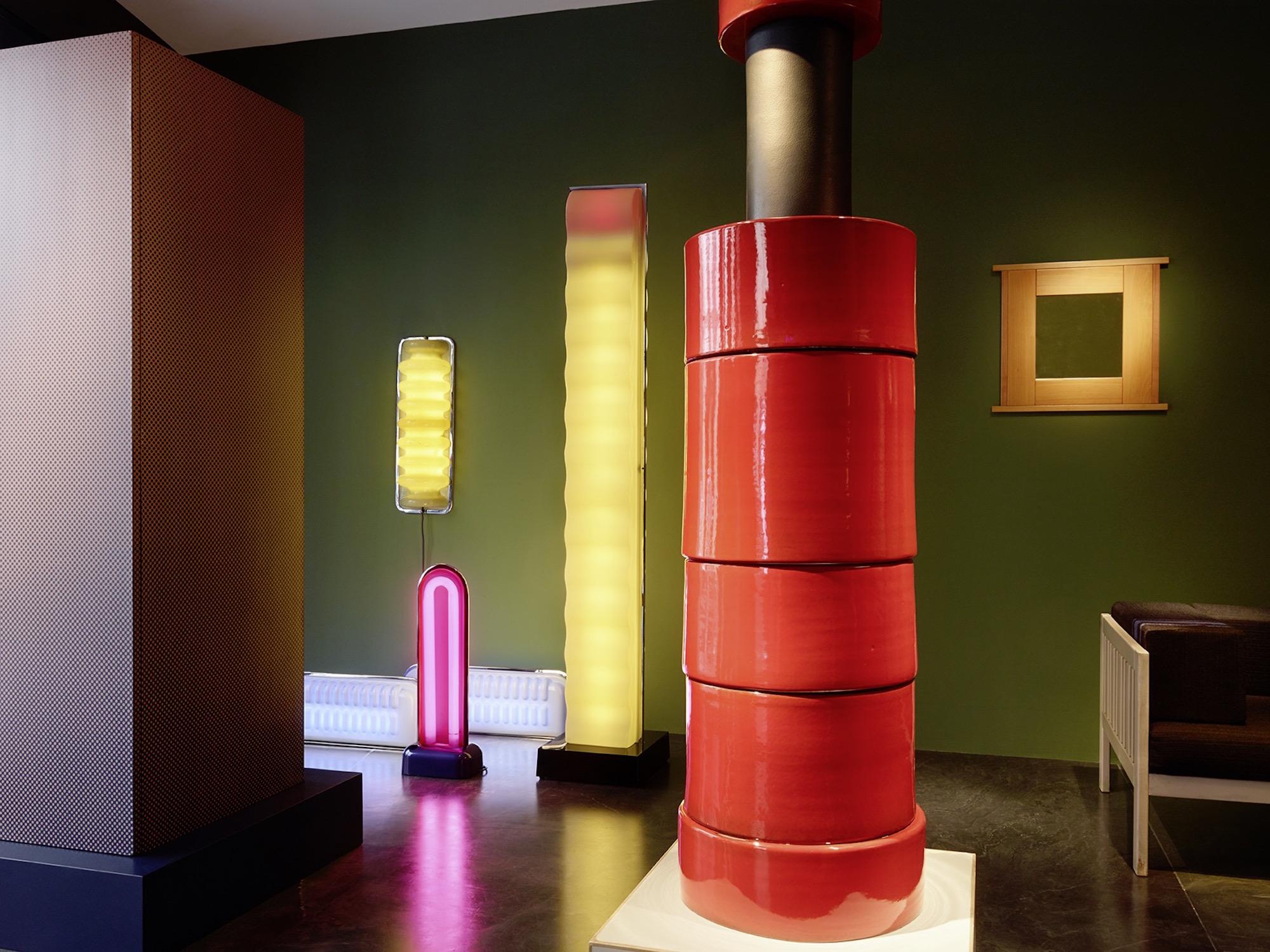 07_Ettore Sottsass © Marie Clérin - Laffanour Galerie Downtown Paris