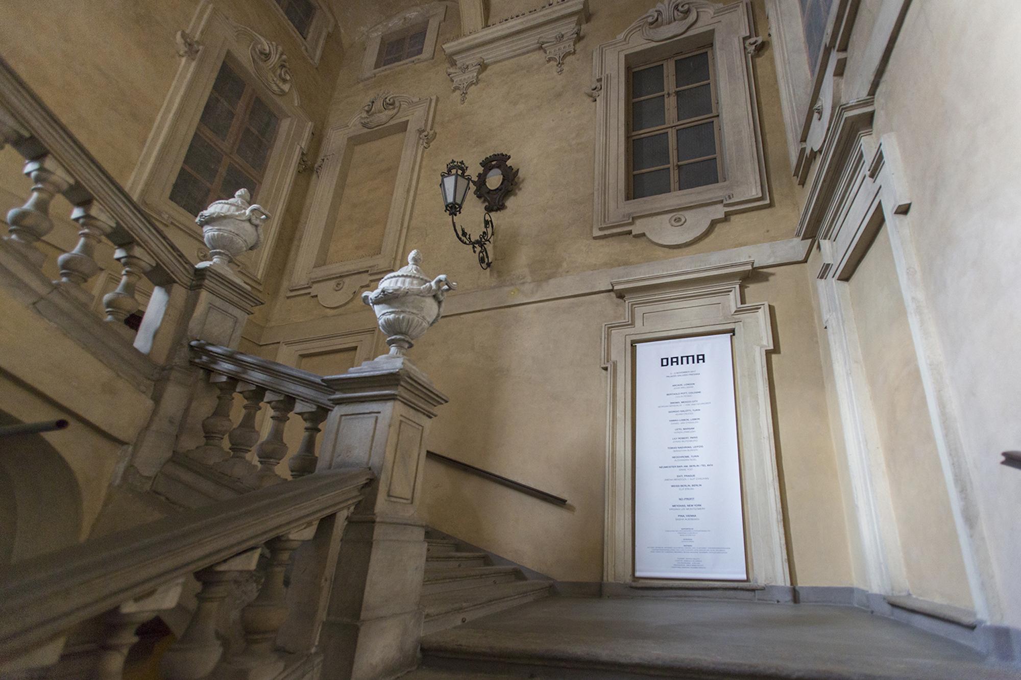 DAMA Staircase