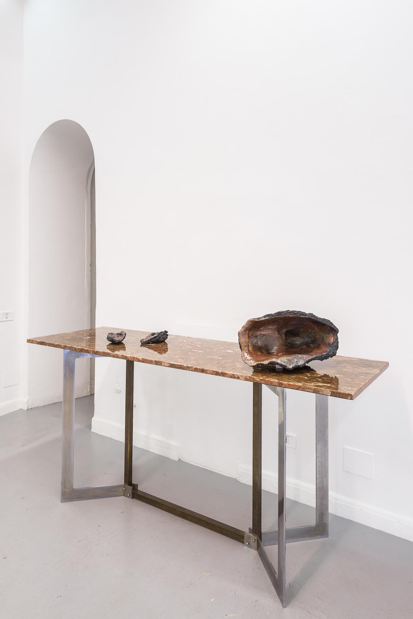 Cleo Fariselli, Dy Yiayi, Exhibition detail. Operativa, Rome. Photo Sebastiano Luciano. 1