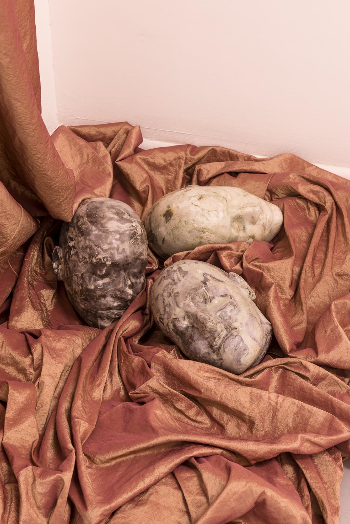 Cleo Fariselli, Dy Yiayi, Exhibition detail. Operativa, Rome. Photo Sebastiano Luciano. 7
